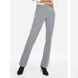 Express Columnist Boot Cut Gray Dress Pants